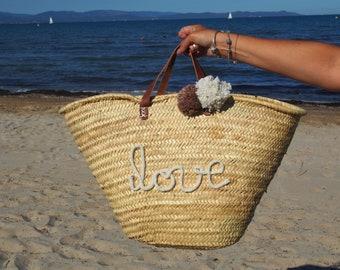 Basket Love knitting