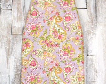 Ironing Board Cover -  Colette Paisley in Purple