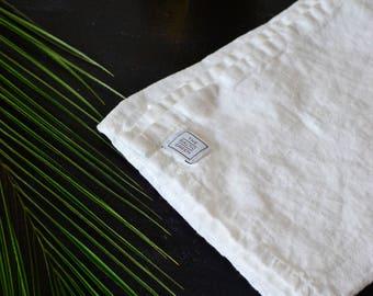 Softened Linen Towel, natural linen, tea towel, kitchen towel, bath towel