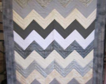 Chevron Stripe Quilt