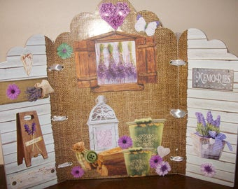 A lil bit of Provence! Frame with shutters