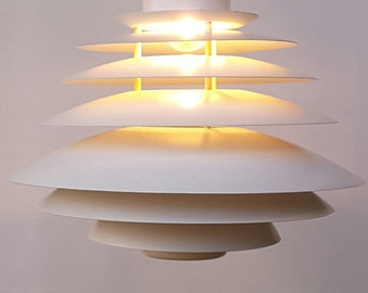 Vintage Danish design Poul Henningsen chandelier, pendant by Top-Lamper