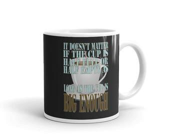Coffee Lovers Ceramic Mug Great Gift For Valentines Day 15 oz Coffee Mug
