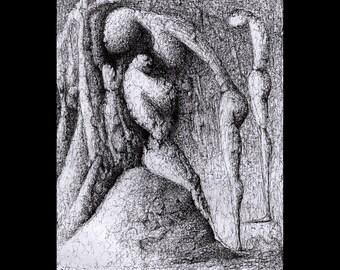 original drawing ..Original  Art [ Contemporary]