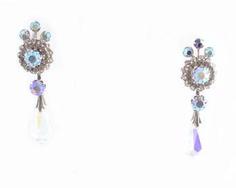 Rhinestone Crystal Drop earrings