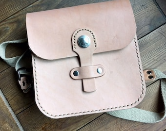 Tan Leather Bag, Leather cross body bag, Leather tote bag, raw leather satchel bag, Small Cross Body Messenger Bag, Hippie Bag, Leather bag
