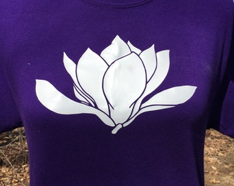 Magnolia Flower Shirt - Magonlia Apparel - Magnolia Shirt - Gifts for Her - Gift for Wife - Anniversary Gift - Gift for Girlfriend
