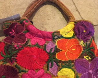 Mexican Embroidery Small Bag