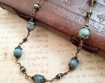 Lights in the Forest - Necklace