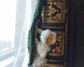 Lily of the valley bookmark