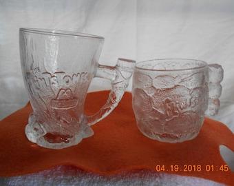 McDonald's Flintstone Mugs - Set of 2