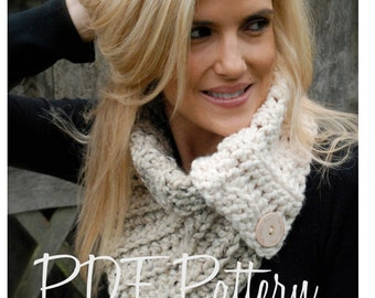 Crochet PATTERN-The Aspen Cowl (Toddler, Child, and Adult sizes)