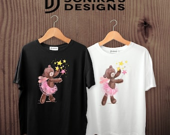 Ballet Teddy Bear Dance T Shirt
