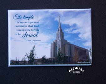 MAGNETS, LDS Temple Magnets, Lds Temple, Lds Temple, Christmas Gift, Mormon Temple, Quote Magnet, Kitchen Magnet, Photo Magnet