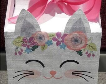 Kitten Favor Box