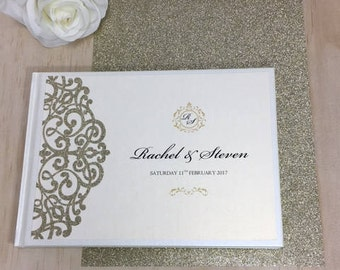 Personalised Guest Book - Glamorous