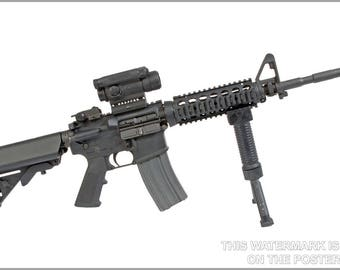 Poster, Many Sizes Available; M4 Carbine With M68 Cco
