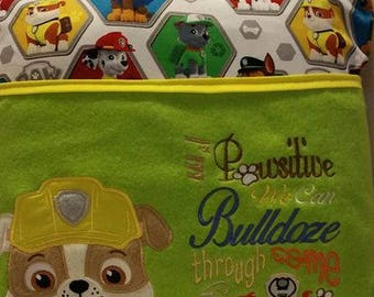 Paw Patrol Reading Pocket Pillow