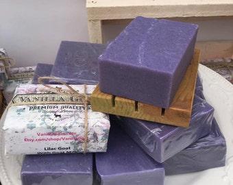 Lilac Goat Milk Soap Bar