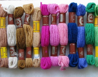 100 Skein Lot DMC Wool Needlepoint/Crewel Yarn #303