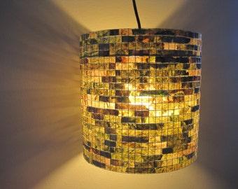 Lighting Chandelier Light Lamp Pendant Ceiling Light Pendant Lampshade Lampada Coffee Filter Art