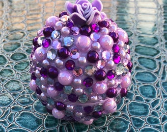 Purple and Lavender Bling EOS Lip Balm