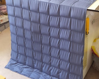 "Summer COTTON Weighted Blanket 40"" x 60"" Size: Large/Twin bed Custom Weights! FREE Shipping From Ontario CANADA"