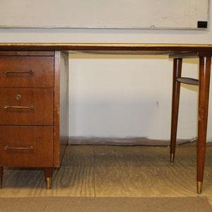 mid century office furniture. SALE Desk Mid Century Modern Danish Vintage Furniture Scandinavian Wood Office