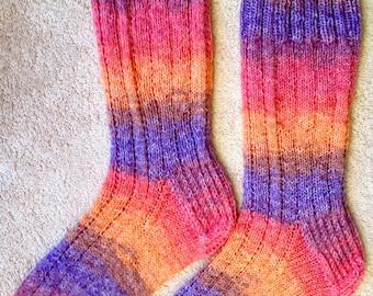 Tricotés à la main pour hommes ou femmes laine chaussettes - laine à chaussette opale (S-222)
