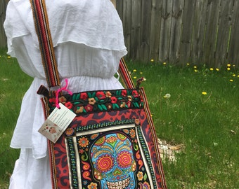 Day of the dead bag Mexican