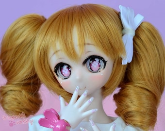 Animetic eyes for Dollfie Dream, Smart doll , BJD ( 22-24mm ) - Hana
