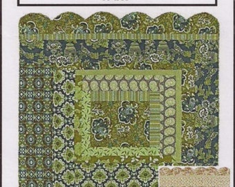 Charming Log Cabin pattern by Threaded Pear
