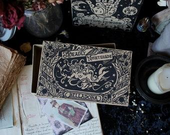 Deadly Nightshade/ Apothecary Box