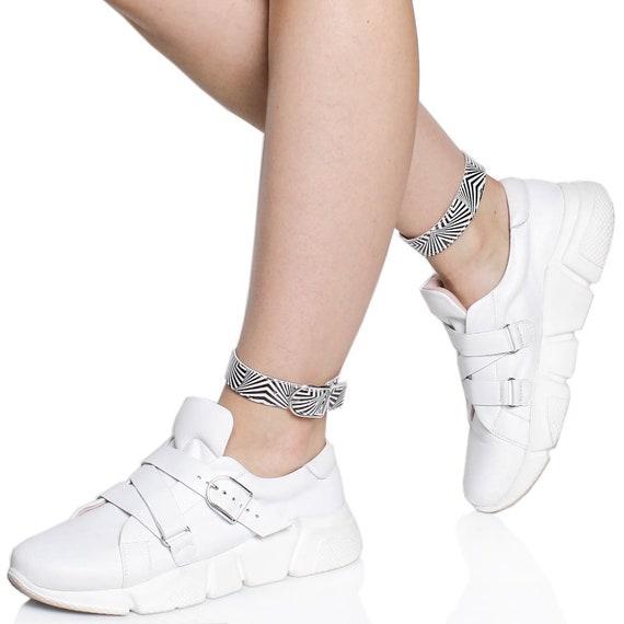 urban leather shoes custom print bracelet leather TL0039 summer platform Platform foot clothing vans white sneakers with shoes zebra shoes wPaanfHqB