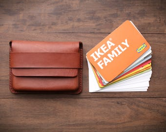 Leather Purse, Card Wallet, business card wallet, Leather Wallet