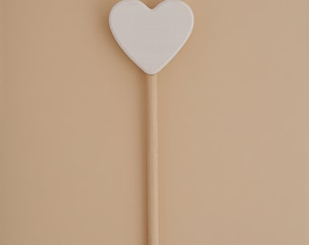 Magic Wand | Heart Wand | Fairy Wand | Wood Wand | Wizard wand | Waldorf toy | Montessori | Wood toys | Toddler gift | Imaginative play