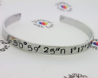 Proposal idea, engagement plan, will you marry me, bracelet, unique proposal, coordinates, love, together forever, marriage jewellery