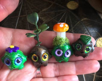 Forest Worry Warts set // anxiety worry doll cute meditation relaxation therapy depression mental health