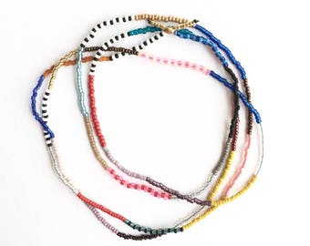 Jules Seed Bead Necklace