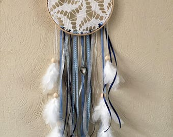 Dream catcher Dream catcher in shades of blue and silver