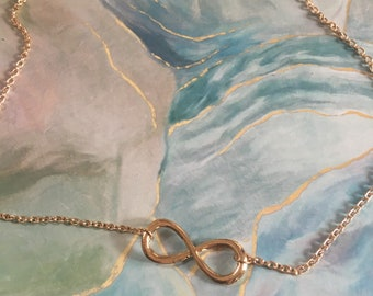 Infinity Necklace - Forever - Love - BFF - Friendship - Marriage - Present