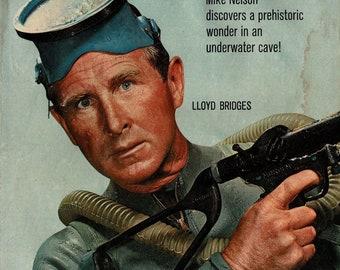 Sea Hunt - 1961 - Color Comic book
