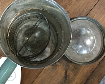 Vintage Tin Four Sifter