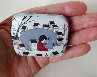 Cat Container, Small Box, Huge Cat, Tiny Houses, Watercolor Box, Party Favors, Wedding Mints, Korean Stationery, Stash Box
