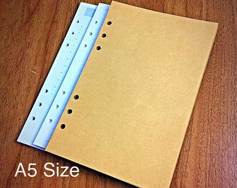 A5 PRINTED Planner Inserts, A5 Planner, Kikki K Printed Inserts, Filofax Planner Inserts, Carpe Diem Planner Inserts 30-32 sheets