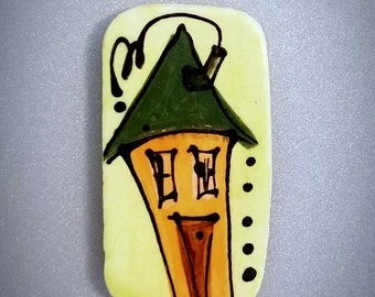 """Whimsical House Magnets 2""""×1"""""""