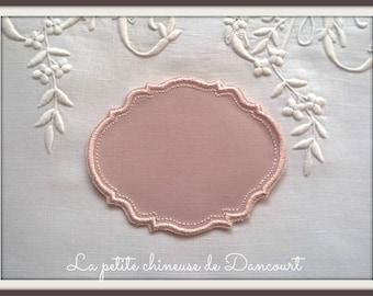 Powder Pink Gustavian setting