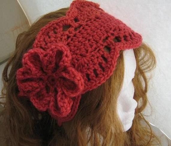 Crochet Ear Warmer Pattern For Women Pdf Crochet Pattern