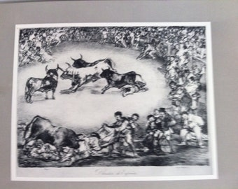 Francisco Goya Vintage Reproduction Print