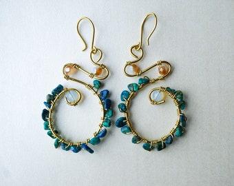Journey of a Goddess Earrings